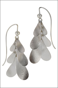 Baptisia Earrings, Large